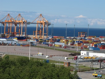 Pildid / Container terminal TS small